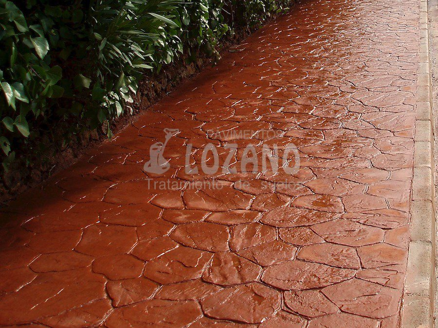 Hormigon impreso pavimentos lozano Hormigon impreso que es