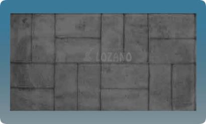 Tipos de moldes pavimentos lozano for Hormigon impreso tipos
